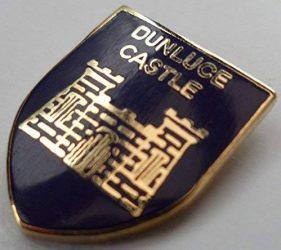 Dunluce Castle Northern Ireland Pin Badge