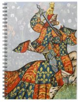The Grand Equestrian Knight Medieval Notebook
