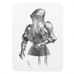 French Jousting Armour (Rennzeug, 1814-1879) Magnet