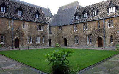 Merton College, East Range, Mob Quadrangle