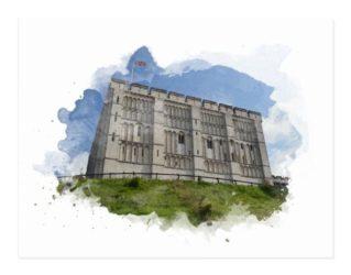 Norwich Castle Gifts: Postcard