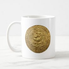 Medieval Coins: Queen Mary I Gold Sovereign Coffee Mug