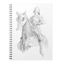 Armoured equipment for Knight and Horse Notebook